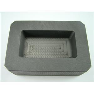 25 oz Gold  15 oz Silver High Density Graphite Mold Bar Loaf Scrap Rectangle