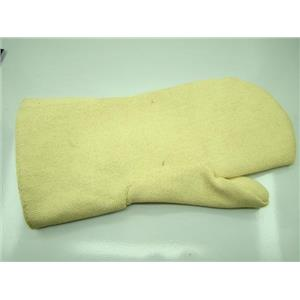 "Professional Safety Heat Glove-Mitten Furnace Kiln 14"" Fire-Gold-Silver"