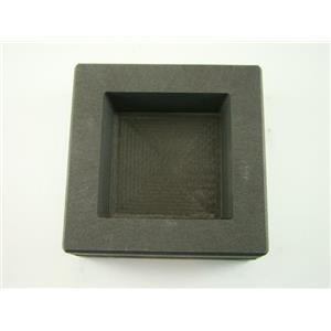 25 oz Gold - Silver Bar High Density Graphite Square Slab Mold Loaf Copper (H5)
