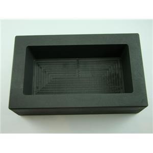 150 oz Gold  75 oz Silver High Density Graphite Mold Bar Loaf Scrap Copper