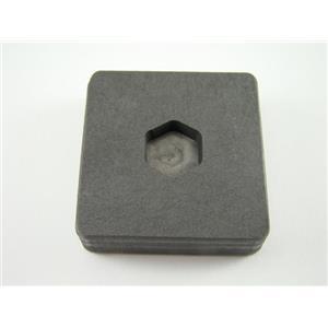 1/4 oz Gold 1/8 oz Silver Bar High Density Graphite Hexagon Mold Copper