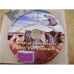 "Tim Glidewell Teaches ""How to Stake a Mining Claim"" DVD Prospecting Gold"