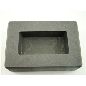 100 Gram Ag Silver Bar High Density Graphite Ingot Mold Loaf Rectangle