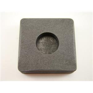 1/2 oz Round Gold Bar High Density Graphite Mold - 1/8 oz Silver Copper Bars