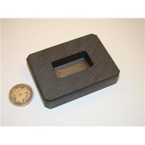 1 oz Gold Bar High Density Graphite Ingot Mold  Loaf 1/2 oz Silver - Copper