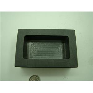 15 oz Gold  10 oz Silver Copper High Density Graphite Mold Bar Loaf Scrap