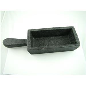 100 oz Gold Bar Loaf Steel Ingot Mold Cast Iron- Smelting Sterling