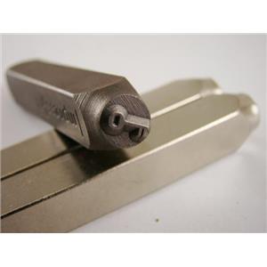 """""""Skeleton Key"""" 1/4""""-6mm-Large Stamp-Metal-Hardened Steel-Gold & Silver Bars"""
