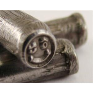 """Smiley Face Wink "" Symbol 3/16""-5mm-Stamp-Hardened Steel-Gold & Silver Bars"