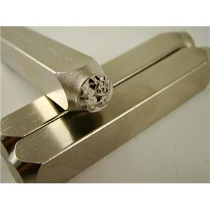 """""""Moo Moo Cow"""" 1/4""""-6mm-Large Stamp-Metal-Hardened Steel-Gold&Silver Bars Copper"""