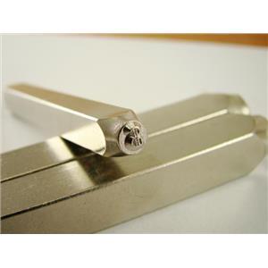 """Dollar Sign $ "" 1/8""-3mm-Large Stamp-Metal-Hardened Steel-Gold&Silver Bars"