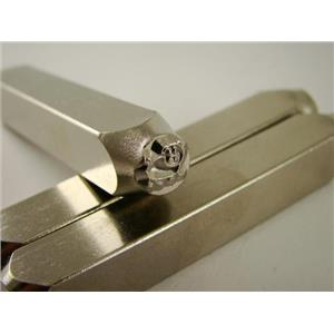 """Oinky Pig Porker""1/4""-6mm-Large Stamp-Metal-Hardened Steel-Gold&Silver Bars"