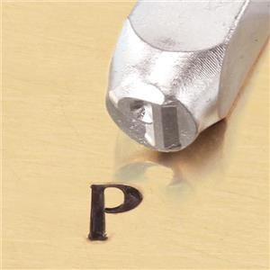 """Greek-Rho-Sign"" 1/4""-6mm-Large Stamp-Punch-Metal-Steel-Gold & Silver Bars"