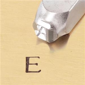 """""""Greek-Epsilon-Sign"""" 1/4""""-6mm-Large Stamp-Punch-Metal-Steel-Gold&Silver Bars"""