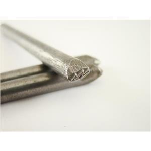 """""""Lightning Bolt"""" Symbol 3/16""""-5mm-Stamp-Metal-Hardened -Gold&Silver Bars"""