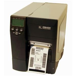 Zebra ZM400 ZM400-2001-0100T Thermal Direct Label Barcode Tag Printer Network