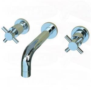 Kingston Brass KS8121DX Concord Wall Mount Sink Faucet, Chrome