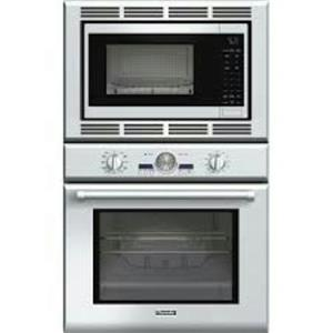 """Thermador 30"""" True Convection SoftClose Stainless Combo Wall Oven PODM301J"""