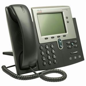 Cisco CP-7942G 7942G 2 Button SCCP VoIP PoE Phone Stand HandSet