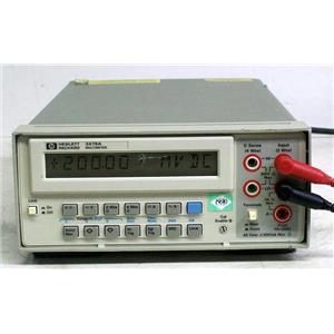 AGILENT HP 3478A 300V DIGITAL MULTIMETER
