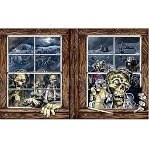 Zombie Attack Insta-View Halloween Decoration