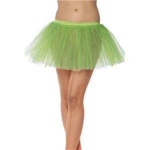 Smiffy's Women's Neon Green Tutu Underskirt