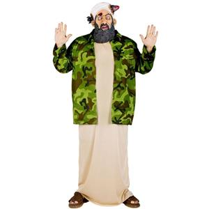 Most Wanted Osama Bin Laden Plus Size Adult Costume