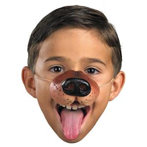 Rubber Dog Nose Costume Accessory