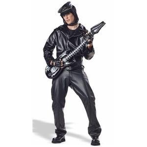Heavy Metal Rocker Adult Costume XL 44-46
