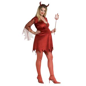 Devil Lady Maternity Costume Mommy To Be