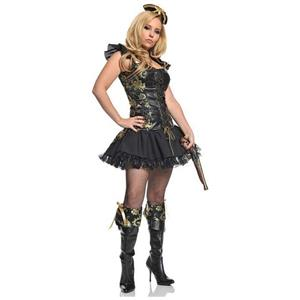 Underwraps Pirate Princess Sexy Adult Costume Size Small