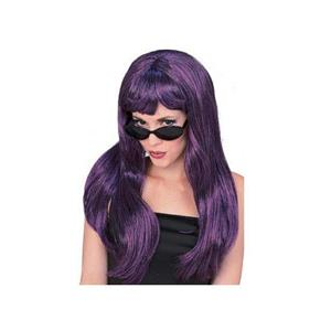Sexy Purple & Black Glamour Wig NEW REDUCED