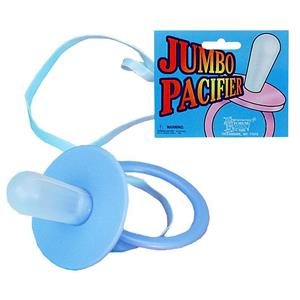 Jumbo Blue Pacifier Baby Shower Decoration Costume Accessory