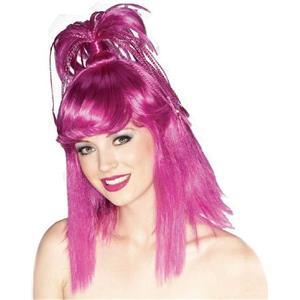 Purple Genie Wig