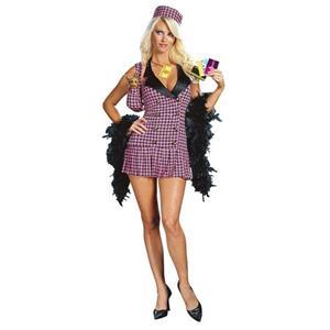 Shop-a-Holic Cher Hilton Clueless Sexy Adult Costume Medium 8-10