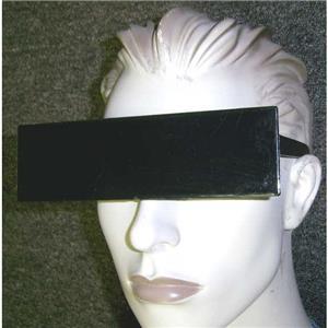 Censor Censored Black Bar Novelty Sunglasses