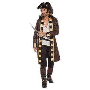 Buccaneer Captain Pirate Adult Costume