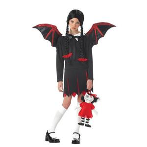 Very Bat Girl Child Costume Size Large 10-12