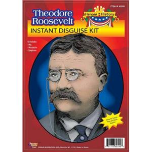 Theodore Teddy Roosevelt Instant Disguise Costume Kit