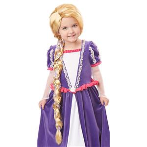 Rapunzel Child Costume Long Blonde Braid Wig