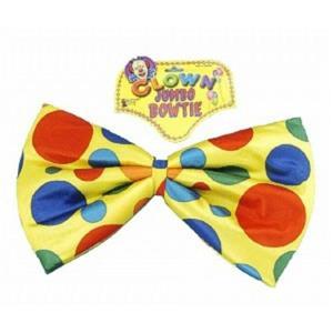 Jumbo Foam Clown Bow Tie Costume Accessory