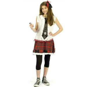 Wicked Innocence School Girl Junior Costume Size Medium 8-10