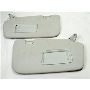 2008 2009 2010 2011 Subaru Impreza Sun Visor Set Pair with Covered Mirrors