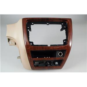 2006 Ford Taurus Radio Climate Combo Trim Bezel with 2 12 Voilt outlets