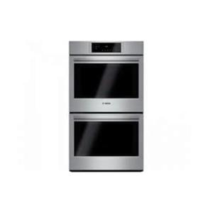 "Bosch 800 Series 30"" SS 4.6 cuft Double Electric Convection Wall Oven HBL8651UC"