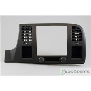 2007-2013 Chevrolet Silverado Sierra Radio Climate Combo Trim Bezel with Vents