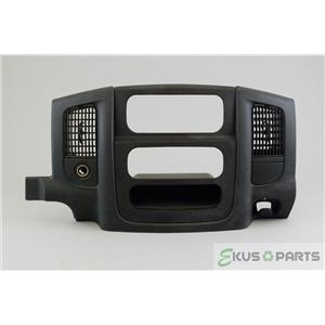 2002-2005 Dodge Ram 1500 Radio Climate Dash Trim Bezel with Vents and 12V Outlet