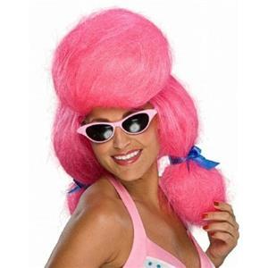 Pink Poodle Wig