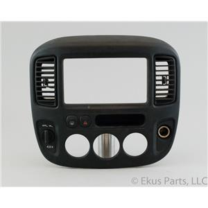 2001-2007 Ford Escape 2005-2007 Mariner Radio Climate Dash Bezel with 4WD Vents