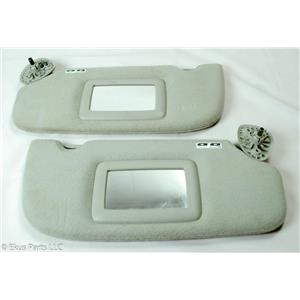 2005-2009 Trailblazer Envoy Rainier Sun Visor Set with Mirrors and Adjust Bars